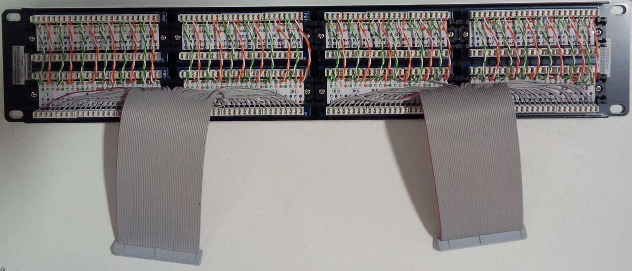 Moboctrl patch panel with economizer