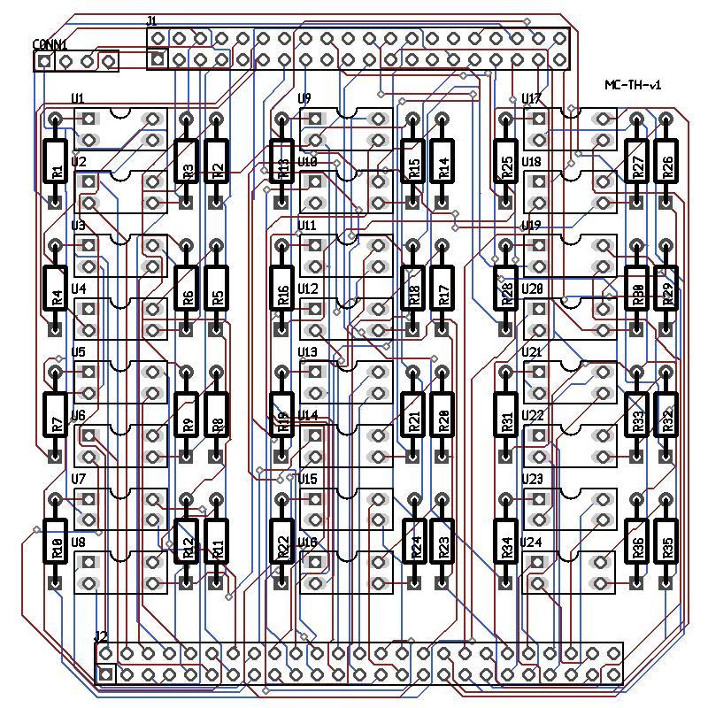 Version 1 PCB